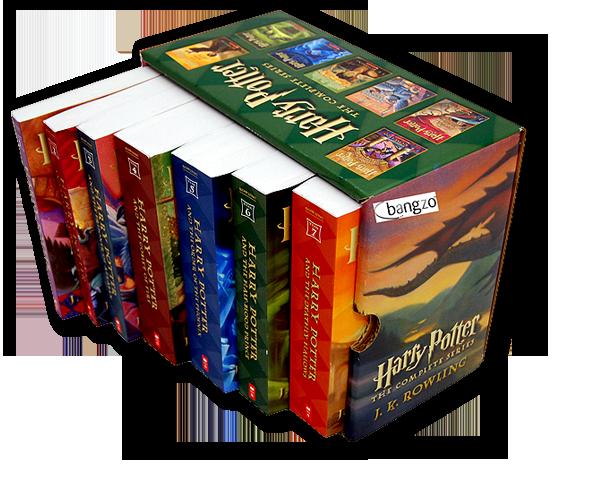 Harry Potter Paperback Books 1-4 Set J.K. Rowling
