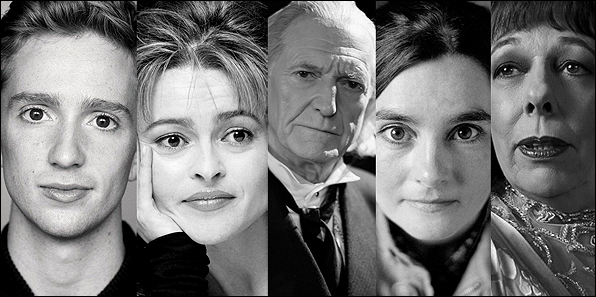 Cast di HP ai BAFTA TV Awards 2014
