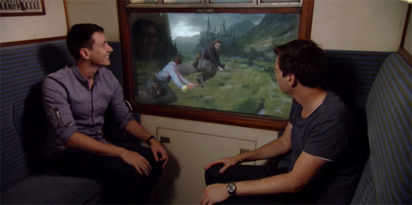 Wizarding World: A bordo dell'Hogwarts Express con James e Oliver Phelps
