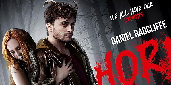 HORNS: Daniel Radcliffe è il demonio nel nuovo trailer - nuovo poster con Juno Temple