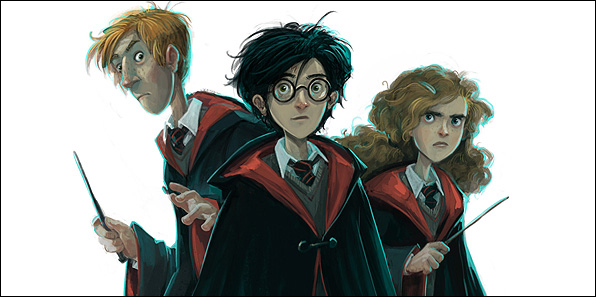 Bloomsbury: ecco le back cover realizzate da Jonny Duddle per la saga di Harry Potter