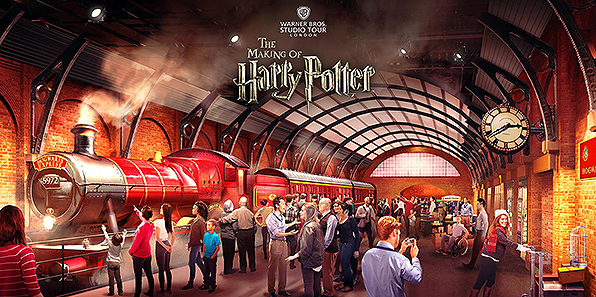 Harry Potter Studio Tour: l'Hogwarts Express arriva in gran segreto ai Leavesden Studios