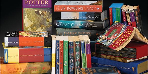 Pubblicata la bibliografia ufficiale di J.K. Rowling