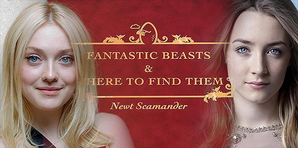 Gli Animali Fantastici: Dove Trovarli - Kate Upton, Saoirse Ronan, Dakota Fanning in lizza
